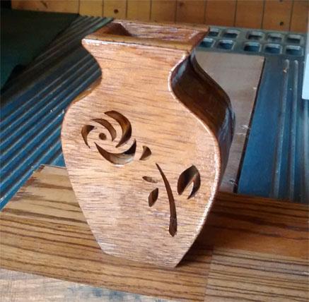 Free Scroll Saw Vase Patterns Patterns Kid