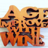 Age imporves with wine