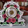 Flower Mantel Clock