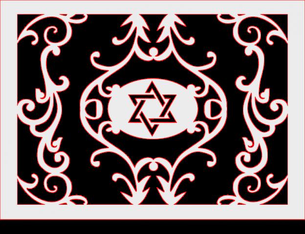 Star Of David plaque