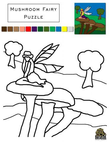 Mushroom Fairy Puzzle