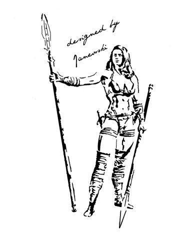 warriors girl