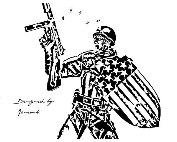 soldier america