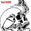 Skull Snake Head