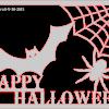 Happy Halloween framed