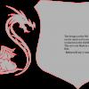 Three Dragons & Shield