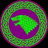 Beast On A Celtic circle
