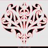 Maori design plaque