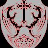 Celtic Shield Cross & Dragons