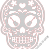 Day Of The Dead Skull Guitar