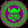 Viking In Celtic circle