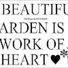 A Beautiful Garden sign