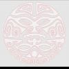 Maori Face plaque