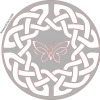 Celtic circle & Butterfly