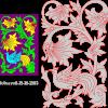 Floral Bird plaque