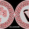 Harp & Shamrock Celtic circles
