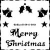 Merry Christmas plaque