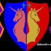 Three Shields coloured