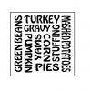 Thanksgiving Dinner Trivet