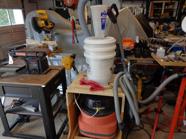 Cyclonic dust collection system - General Scroll Sawing - Scroll Saw